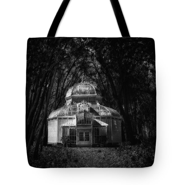 Tote Bag featuring the photograph Mirage In The Woods by Joseph Hollingsworth