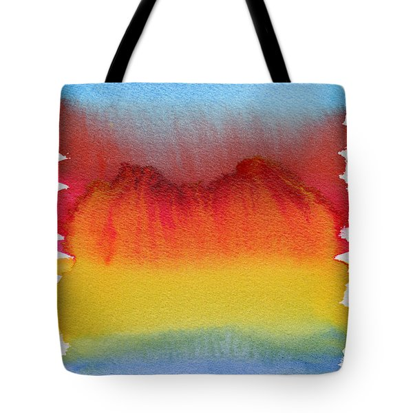 Tote Bag featuring the painting Miraggio by Bee-Bee Deigner
