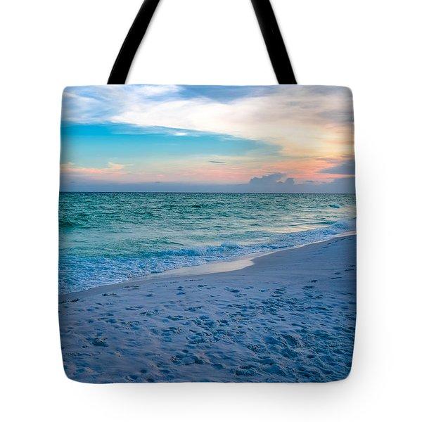 Miramar Blue  Tote Bag