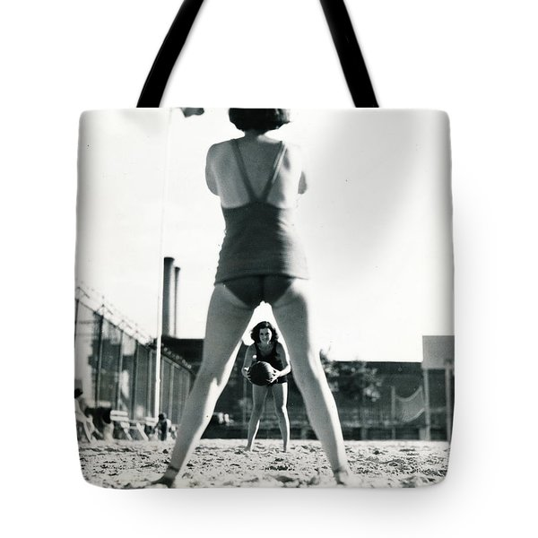Miramar Pool, 1932 Tote Bag by Cole Thompson