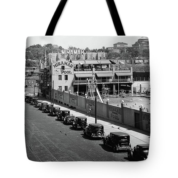 Tote Bag featuring the photograph Miramar Saltwater Pool by Cole Thompson