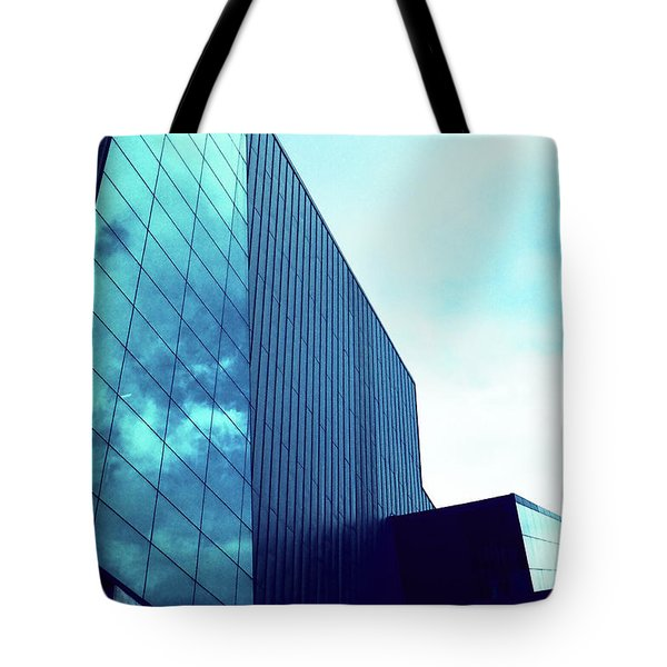 Mirror Building 1 Tote Bag