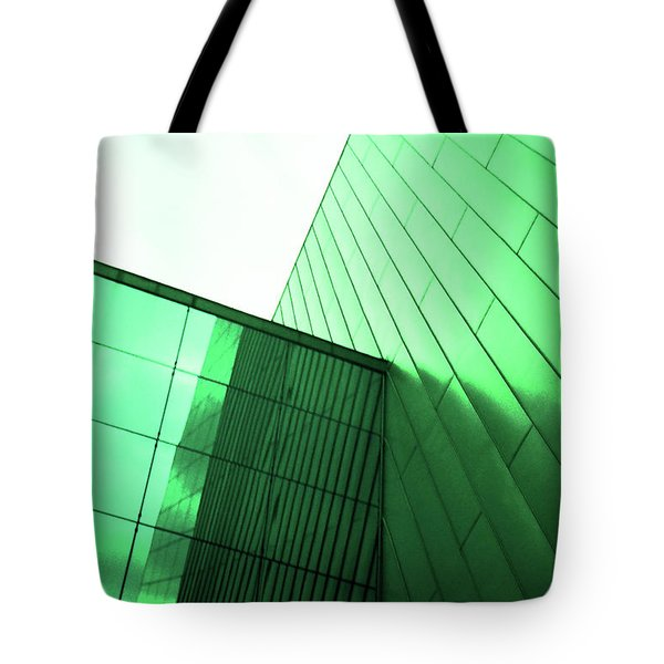 Mirror Building 2 Tote Bag