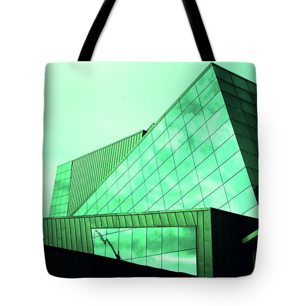 Mirror Building 3 Tote Bag