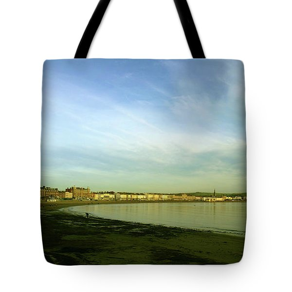 Mirror Calm Tote Bag