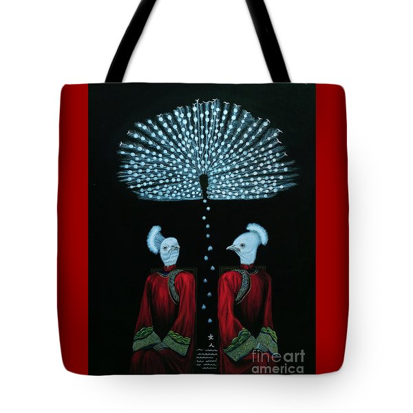 Mirror Tote Bag by Fei A