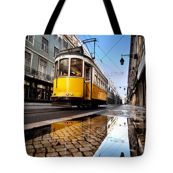 Mirror Tote Bag by Jorge Maia