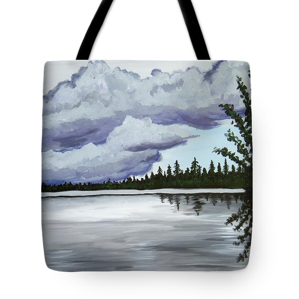 Mirror Lake Tote Bag by Christie Nicklay