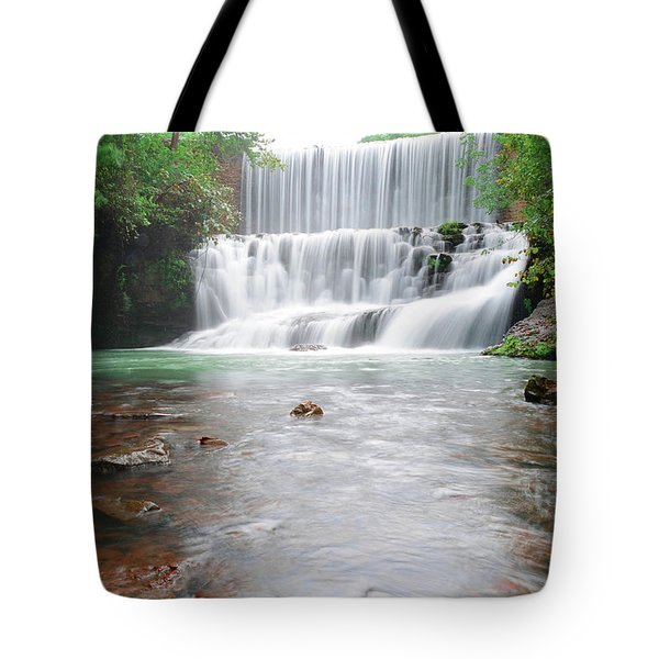 Mirror Lake Falls 2 Tote Bag