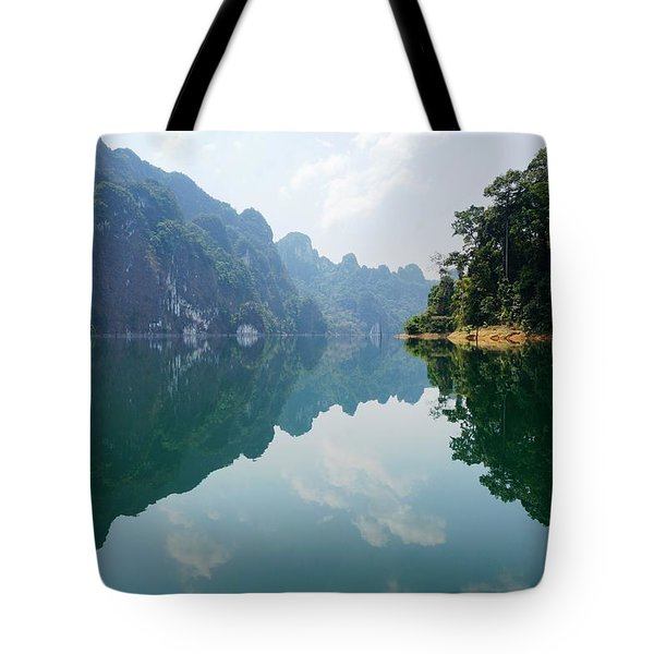 Mirror Lake Tote Bag by Julia Ivanovna Willhite