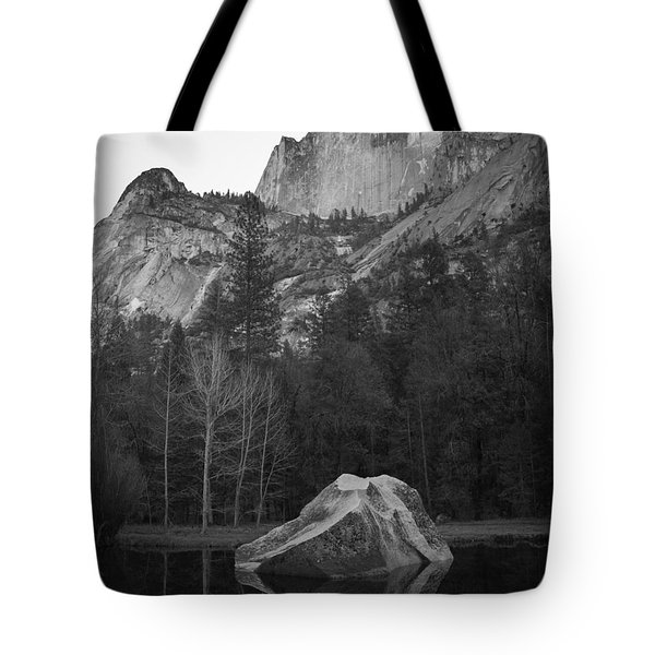 Mirror Lake Rock Tote Bag
