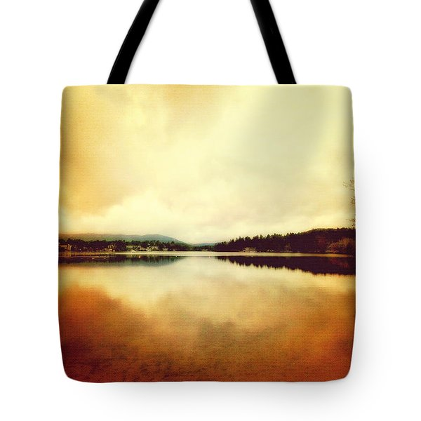 Mirror Lake At Sunset Tote Bag
