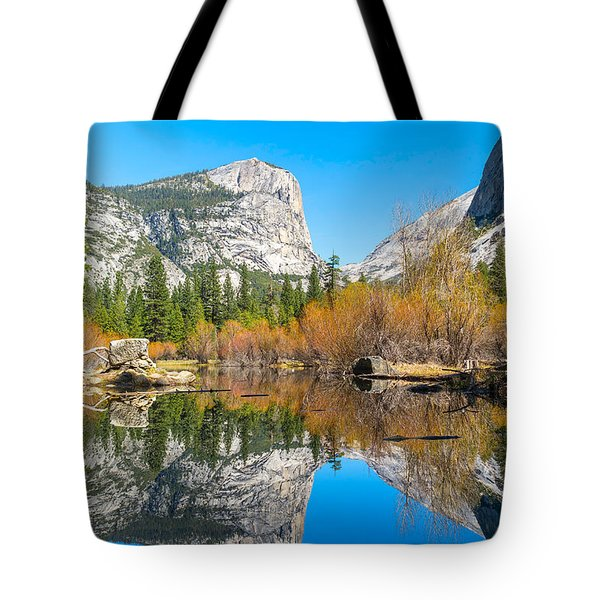 Mirror Lake Yosemite Np Tote Bag