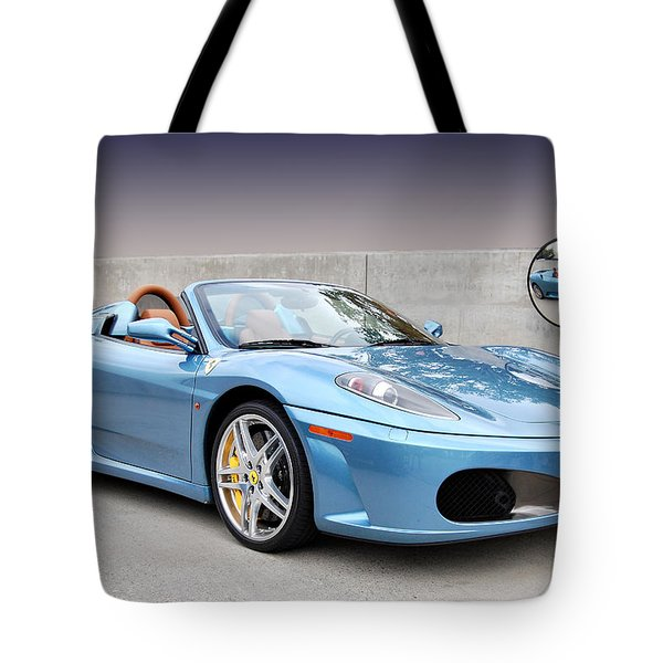 Mirror Mirror Tote Bag by Bill Dutting