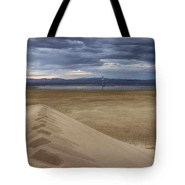 Mirror Mirror In The Desert Who Is The Smartest Of Them All Tote Bag