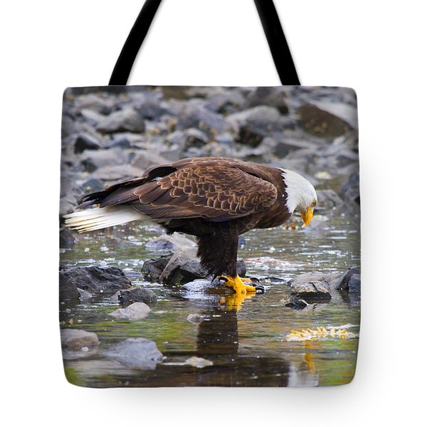 Mirror Mirror Tote Bag by Mike  Dawson