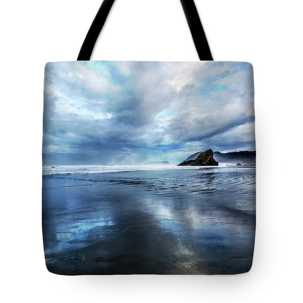 Tote Bag featuring the photograph Mirror Of Light by Debra and Dave Vanderlaan