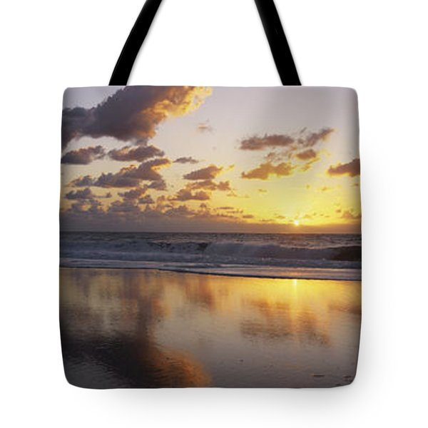 Mirrored Mexico Sunset Tote Bag by Bill Schildge - Printscapes