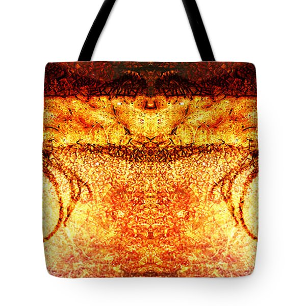 Mirrored Untitled Tote Bag