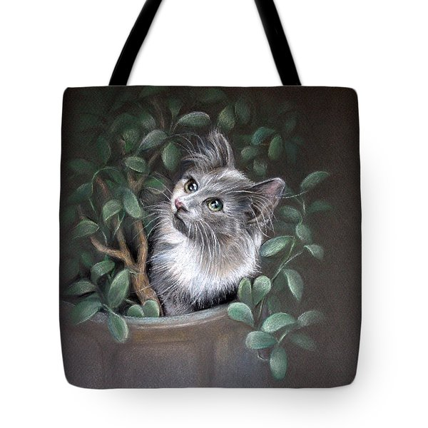 Mischief In The Money Tree Tote Bag