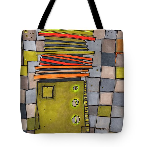 Misconstrued Housing Tote Bag by Sandra Church