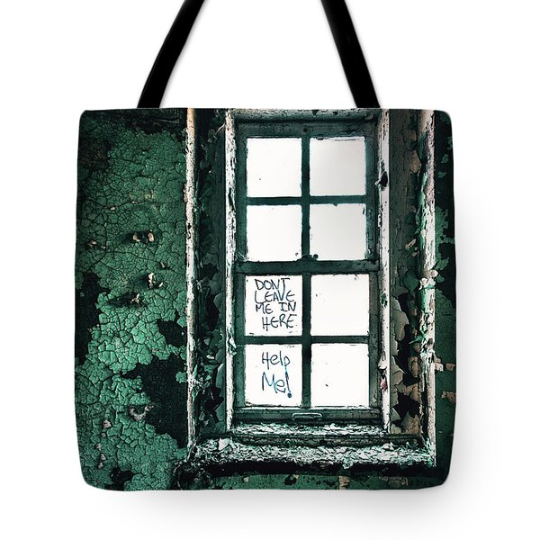 Misery Screams Tote Bag