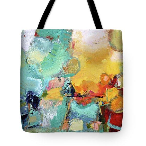 Mishmash Tote Bag by Elizabeth Chapman