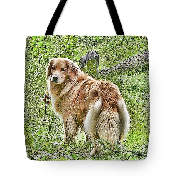 Miss B Tote Bag by Rhonda McDougall
