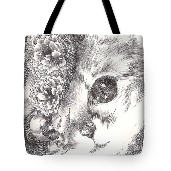 Miss Cat Tote Bag