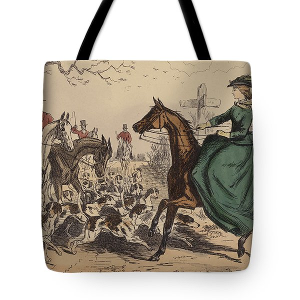 Miss De Glancey Captivates The Earl Tote Bag