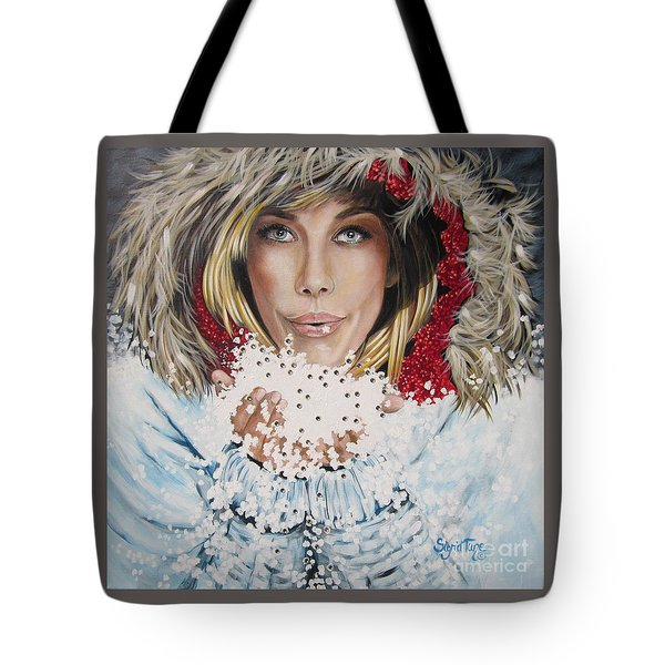 Remarkable Russian Girl.            From The Attitude Girls  Tote Bag