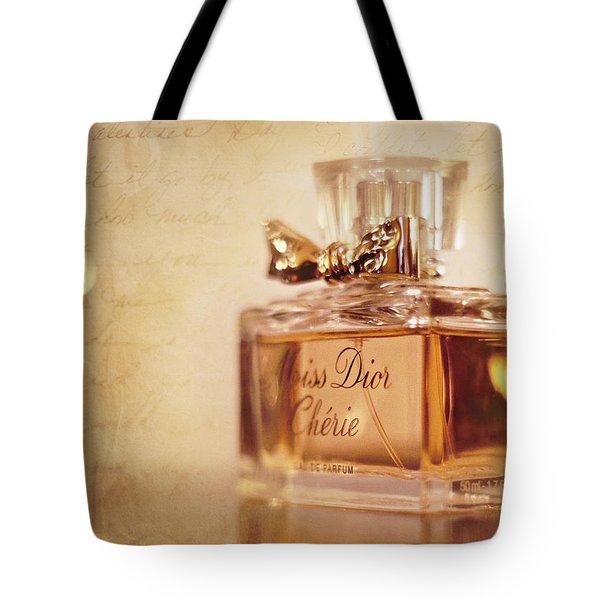 Miss Dior Tote Bag by Susan Bordelon