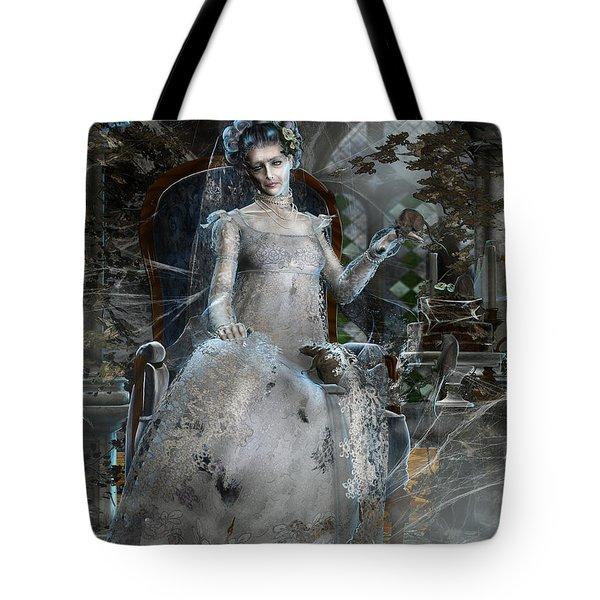 Miss. Havisham Tote Bag by Mary Hood