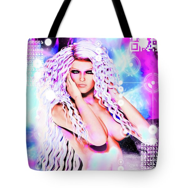 Miss Inter-dimensional 2089 Tote Bag