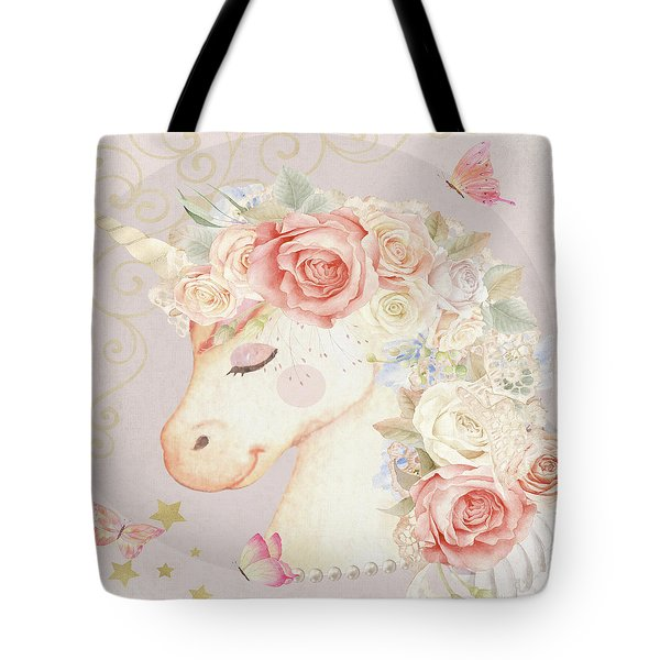 Miss Lilly Unicorn Tote Bag