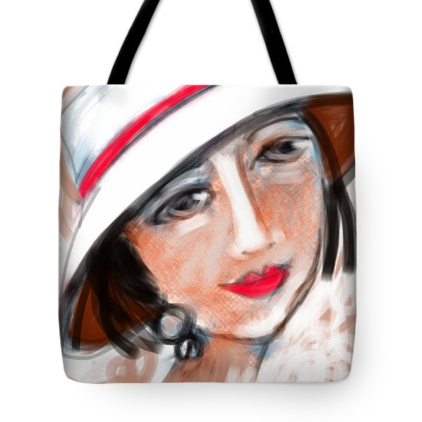 Miss Mary Tote Bag by Elaine Lanoue