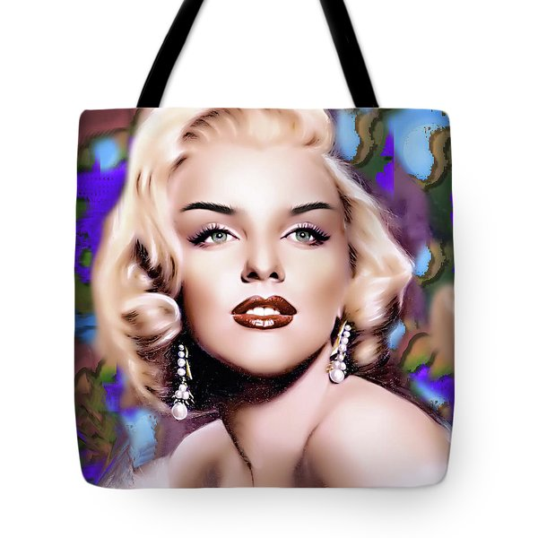 Miss Monroe Tote Bag