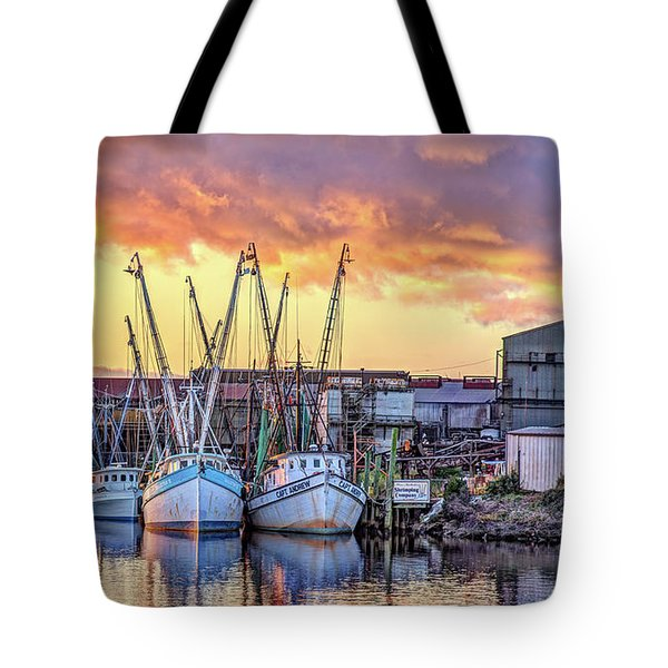 Miss Nichole's Shrimping Company Tote Bag