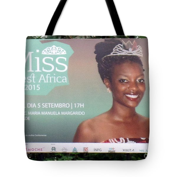 Miss West Africa Tote Bag