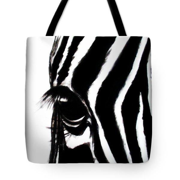 Miss Zebbie Tote Bag
