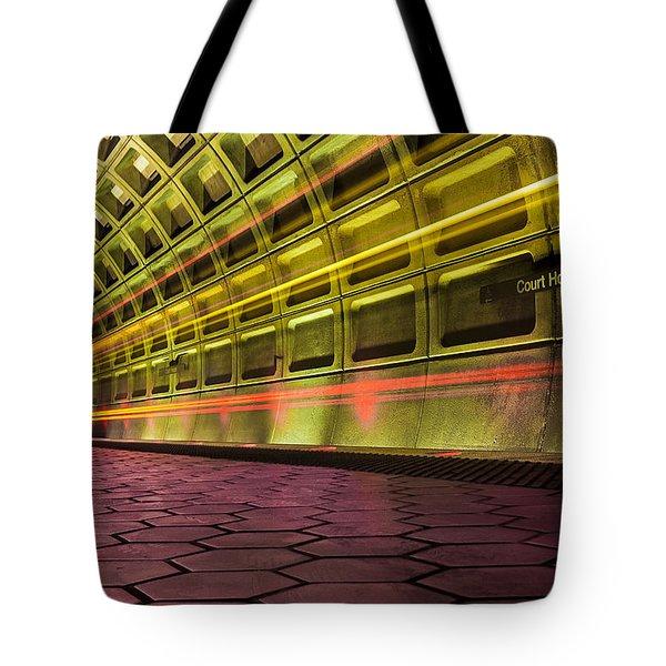 Missed Train Tote Bag