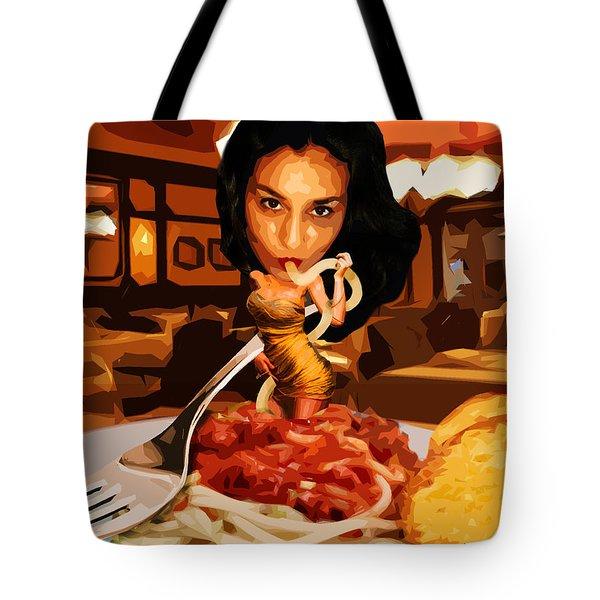 Missghetti Tote Bag