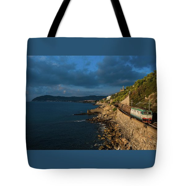 Missing Railway Tote Bag by Andrea Sosio