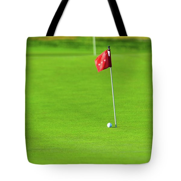 Tote Bag featuring the photograph Missing The Mark by SR Green