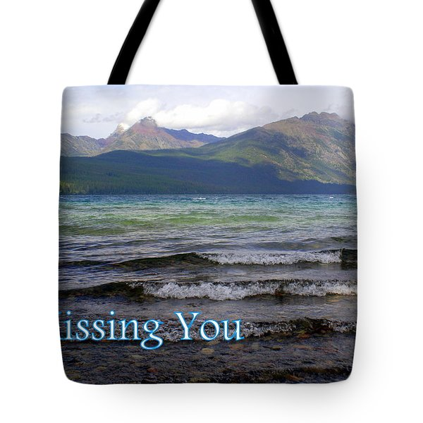 Missing You 1 Tote Bag by Marty Koch