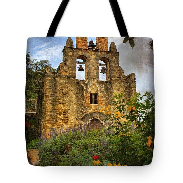 Mission Bells Tote Bag