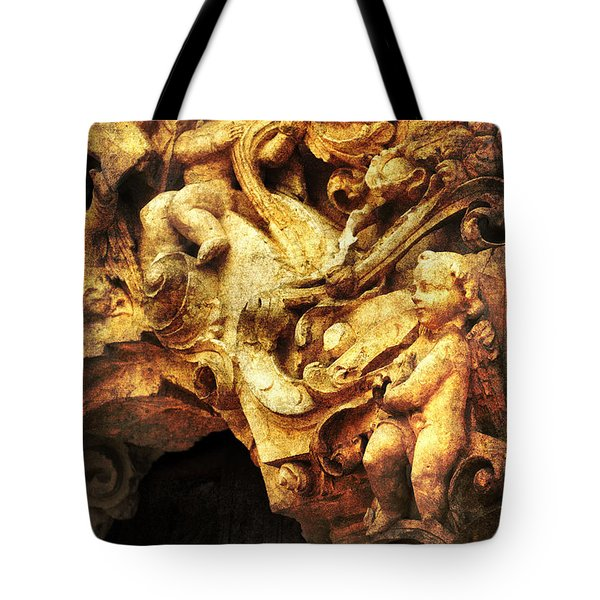 Mission Cherubs Tote Bag