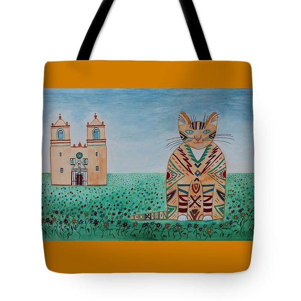Mission Conception Cat Tote Bag