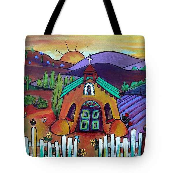 Mission Del Corazon Tote Bag