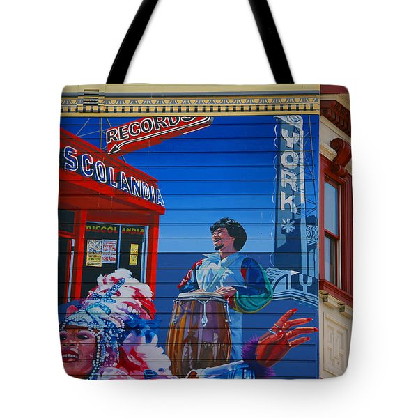 @mission District Sf Tote Bag